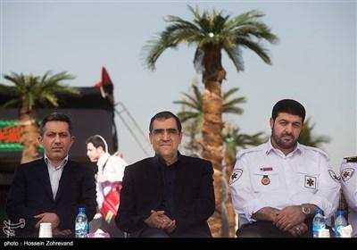 ایران؛ اربعین حسینی کیلئے طبی عملہ کی رخصتی کے مراسم