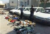 باند سارقان خودرو در بوشهر متلاشی شد