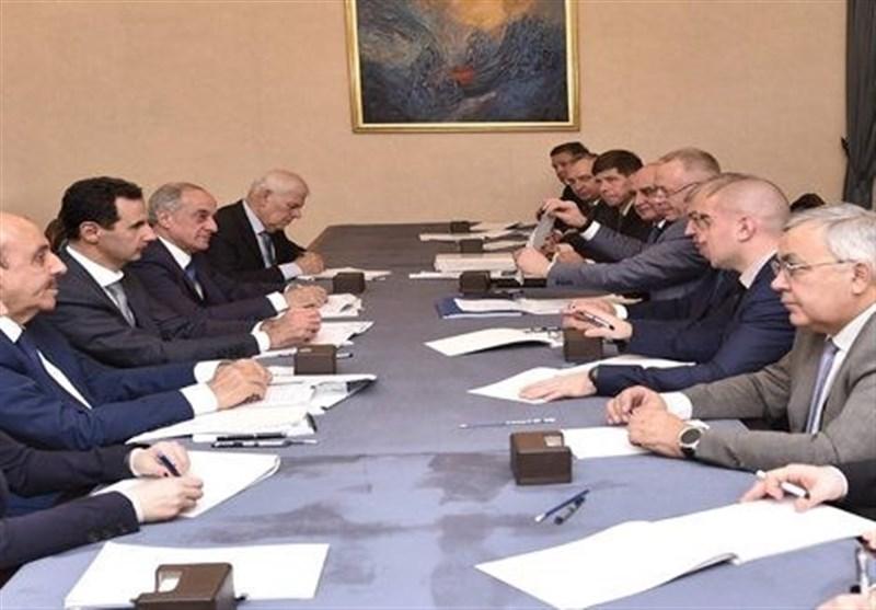 الدولة السوریة مصممة على الاستمرار بالحرب على الإرهاب ودعم المسار السیاسی