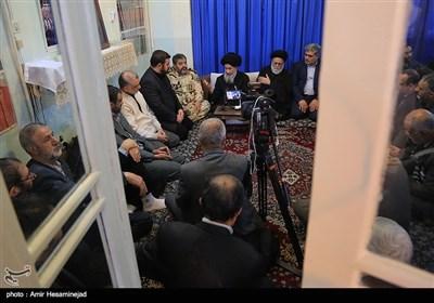 دیدار سردار غلامرضا جلالی رئیس سازمان پدافند غیرعامل با آیتالله علوی گرگانی