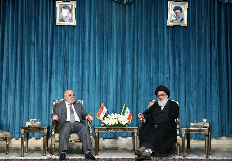 آیة الله هاشمی شاهرودی: الوحدة بین الشعب والمسؤولین فی العراق سر انتصار هذا البلد