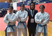 دختران کاتاروی نوجوان به مدال برنز رسیدند/ کسب مدال تیمی تاریخی کاتا بعد از 14 سال