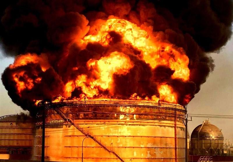 علت آتشسوزی در پالایشگاه تهران
