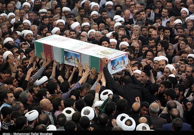 جزئیات تشییع پیکر مطهر سرباز شهید ناجا در شوشتر