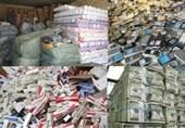 کرمان| ظرفیت انبارهای کالاهای کشف شده قاچاق تکمیل است