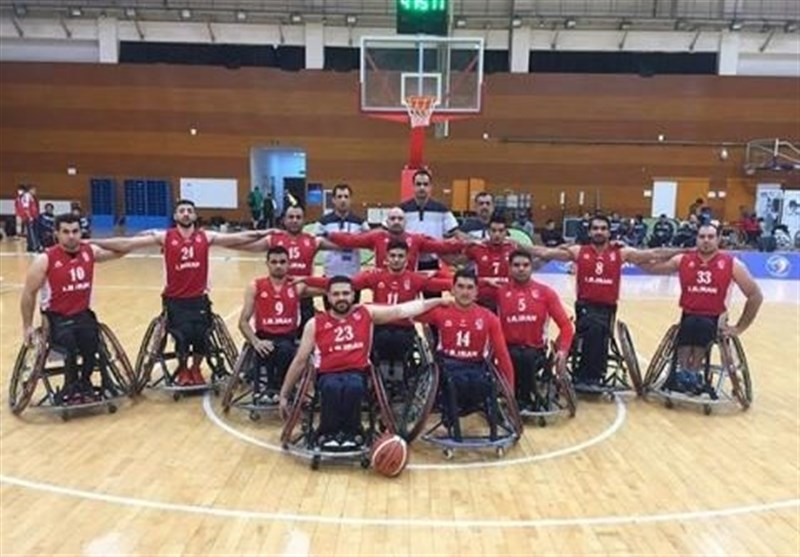 Iran Knows Rivals at 2018 World Wheelchair Basketball Championships