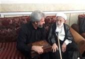 آیتالله جنتی با خانواده شهید حججی دیدار کرد + تصاویر