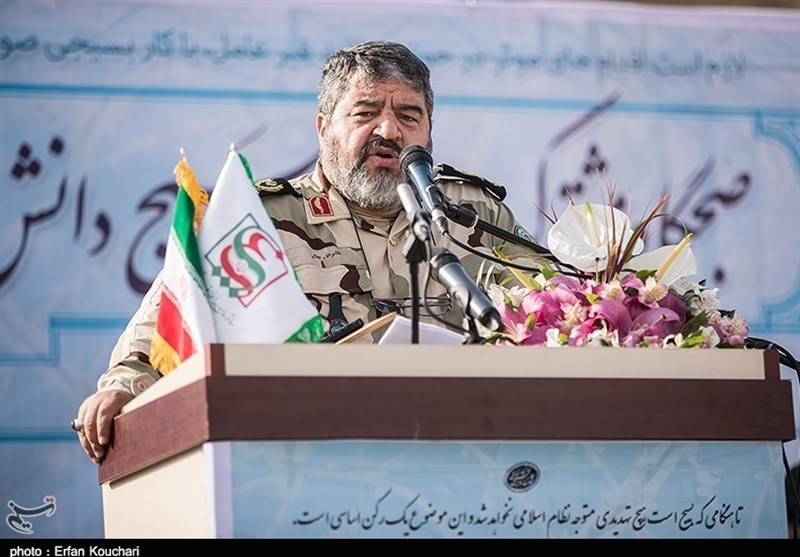 Commander Warns against Enemy's Plots to Hit Iran through Cyberspace