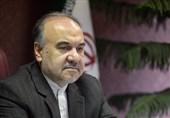 دستور سلطانیفر برای تجهیز ورزشگاه شهید وطنی و اهدای پیراهن نساجی به وزیر ورزش + عکس