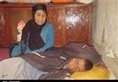 """""""سلبعلی"""" بیمار سرطانی در کهگیلویه و بویراحمد که هزینه کفن و دفن ندارد+فیلم"""