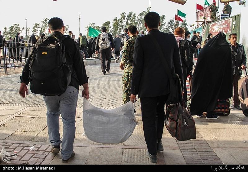 تسهیل در تردد زائران در مرز مهران
