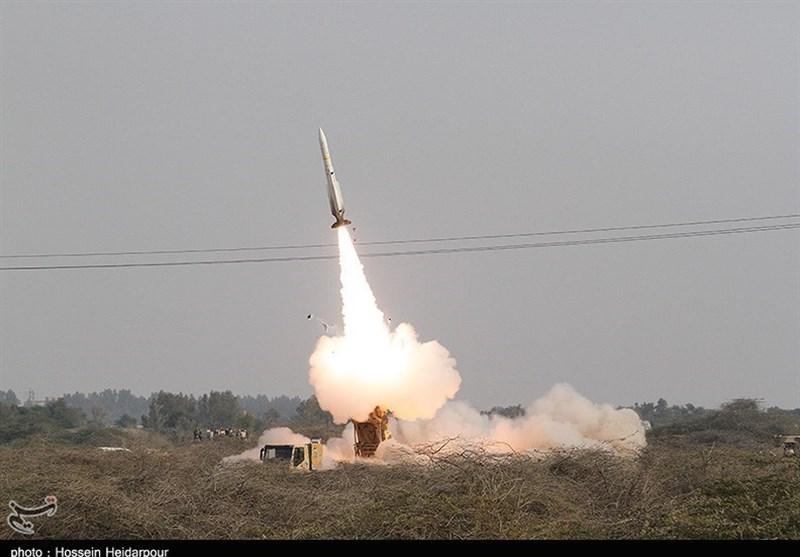 شلیک موشک صیاد 2 و لحظه اصابت به پهپاد + فیلم