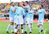 فوتبال جهان لاتزیو با پیروزی در تعقیب مدعیان سهمیه اروپایی ماند