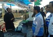 نظارت بر موکبها در مسیر زائران اربعین در خوزستان