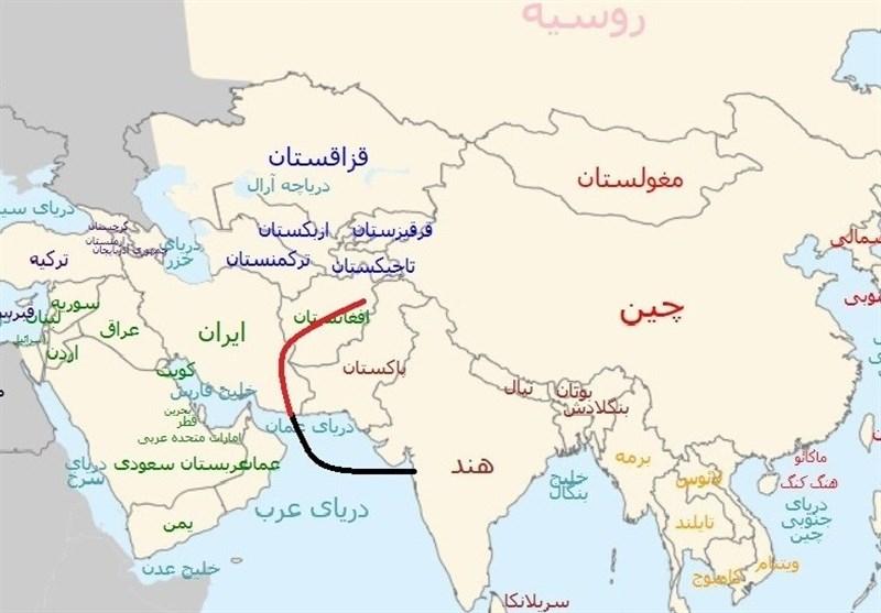الهند تتخذ من ایران معبرا تجاریا الی افغانستان