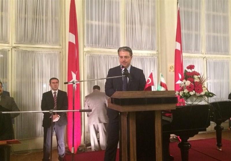 برگزاری مراسم روز جمهوریت ترکیه در ایران/ هاکان تکین: ظریف به زودی به ترکیه میرود