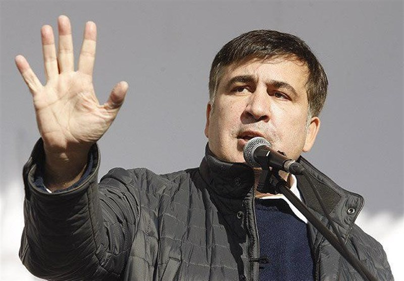 ساآکاشویلی خواستار برگزاری انتخابات زودهنگام در اوکراین شد