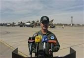 تست جدیدترین تسلیحات هوایی جنگندههای نهاجا در رزمایش فردا