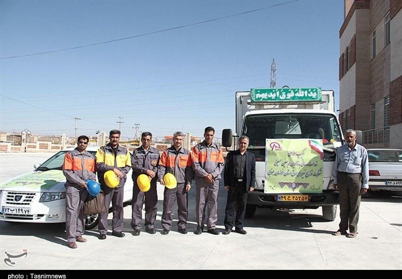 اکیپ عملیاتی شرکت توزیع نیروی برق استان خراسان جنوبی به عراق اعزام شد