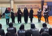 بازدید معاون وزیر ورزش و جوانان از اردوی تیم ملی کبدی بانوان