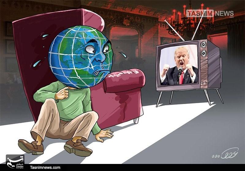 کاریکاتور/ ترامپ؛ تئوری «مرد دیوانه»!