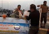 اکیپ صنعت آب و برق خراسان جنوبی برای خدماترسانی به زائران اربعین در کاظمین مستقر شدند