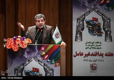 سخنرانی رضا تقیپور عضو شورای عالی فضای مجازی در همایش ملی پدافند غیرعامل