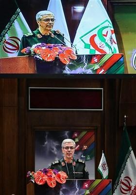 سخنرانی سرلشکر محمدحسین باقری رئیس ستاد کل نیروهای مسلح در همایش ملی پدافند غیرعامل