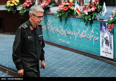 سرلشکر محمدحسین باقری رئیس ستاد کل نیروهای مسلح در همایش ملی پدافند غیرعامل
