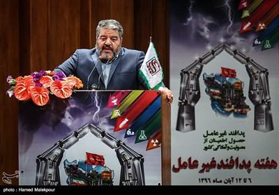 سخنرانی سردار غلامرضا جلالی رئیس سازمان پدافند غیرعامل
