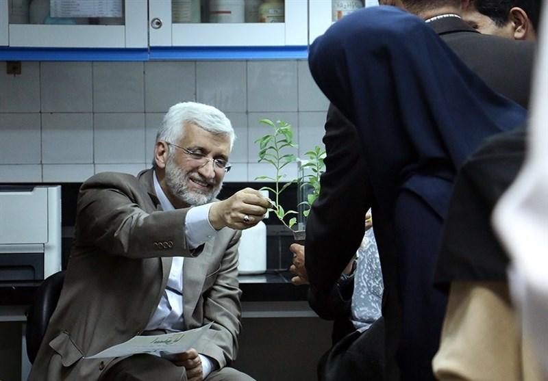 بازدید 9 ساعته سعید جلیلی از پژوهشکده بیوتکنولوژی کشاورزی ایران