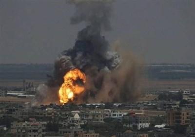 حمله هوایی و توپخانهای رژیم صهیونیستی به غزه