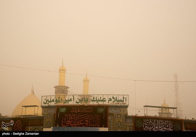 نظر هواشناسی عراق درباره زمان پایان گردوخاک/بازگشت چند پرواز ناموفق به نجف از صبح امروز