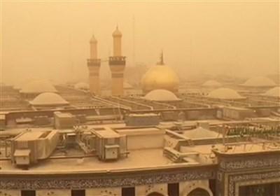 حال و هوای غبار آلود بین الحرمین