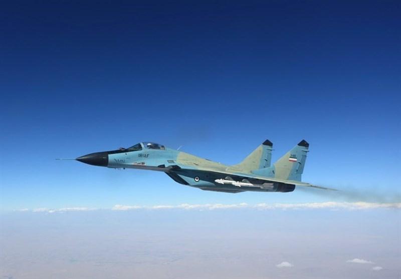 یک فروند جنگنده میگــ29 ارتش سقوط کرد/ تلاش برای پیداکردن خلبان ادامه دارد