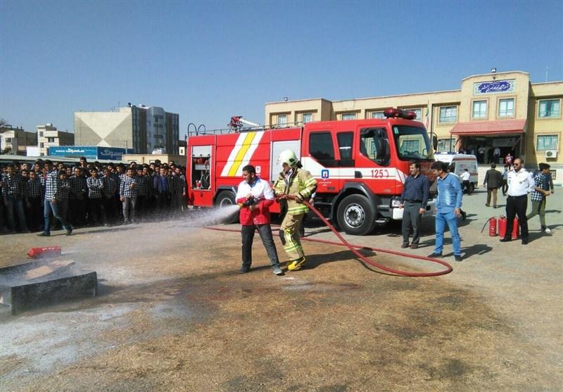 مانور زلزله در اسلامشهر