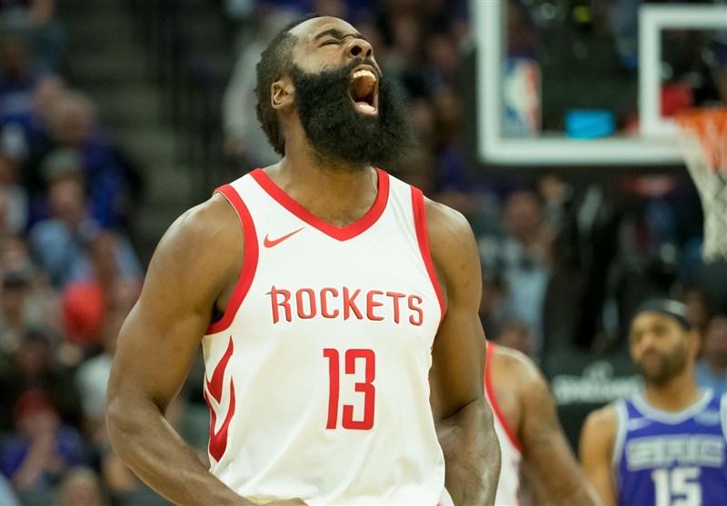 لیگ NBA| پیروزی راکتس با شاهکار هاردن/ رپتورز به صدر کنفرانس شرق برگشت