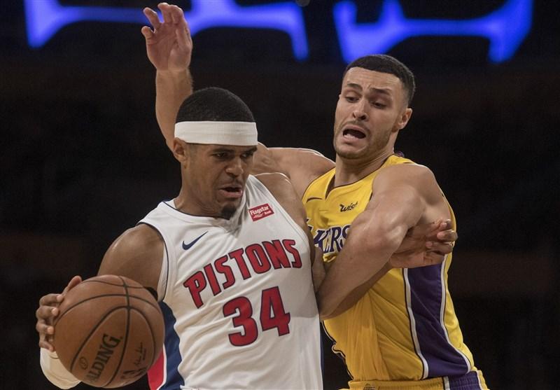 لیگ NBA| لیکرز در غیاب جیمز پیروز شد/ شکست راکتس در خانه