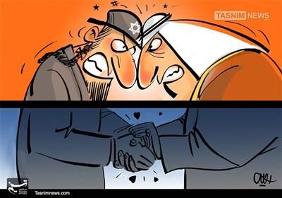کاریکاتور/ نیمه پنهان سعودی!