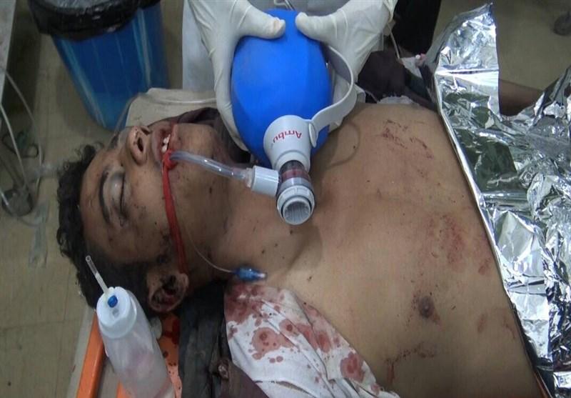 جنایت سعودی در یمن