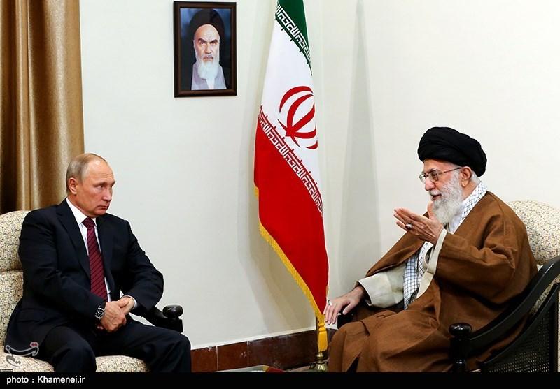 روسی صدر پیوٹن کی امام خامنہ ای سے ملاقات