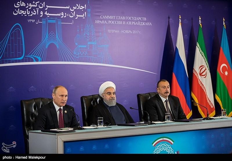 Iran, Russia, Azerbaijan Sign Joint Statement