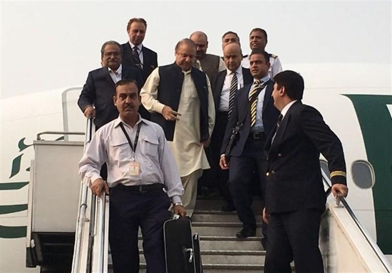 ن لیگ کے قائد اورمریم نواز لندن سے وطن واپس پہنچ گئے