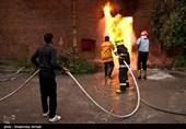 آتشسوزی در کارخانه فشفشهسازی بروجن/ یک نفر کشته و 8 نفر مصدوم شدند