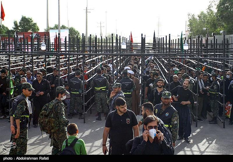 حضور 4 هزار زائر بدون ویزا در مرز مهران