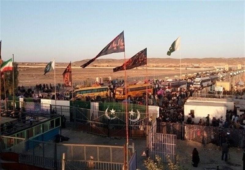 کربلا جانے والے پاکستانی زائرین کی ایران آمد