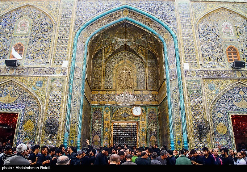 Maula Ali Shrine Wallpaper: Photos: Shia Pilgrims In Imam Ali Shrine In Najaf Ahead Of