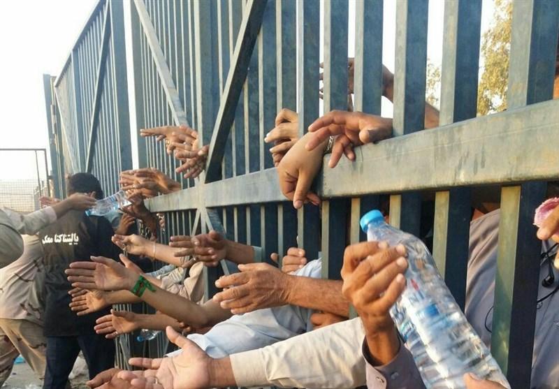25ہزار پاکستانی زائرین پاک - ایران سرحد پر سرگرداں