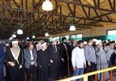 حضور علمای مقاومت در نماز جمعه جنوب بیروت + تصاویر