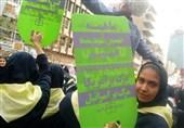 حضور دانشآموزان با یاد شهیدان «فهمیده و حججی» در مراسم 13 آبان+تصاویر